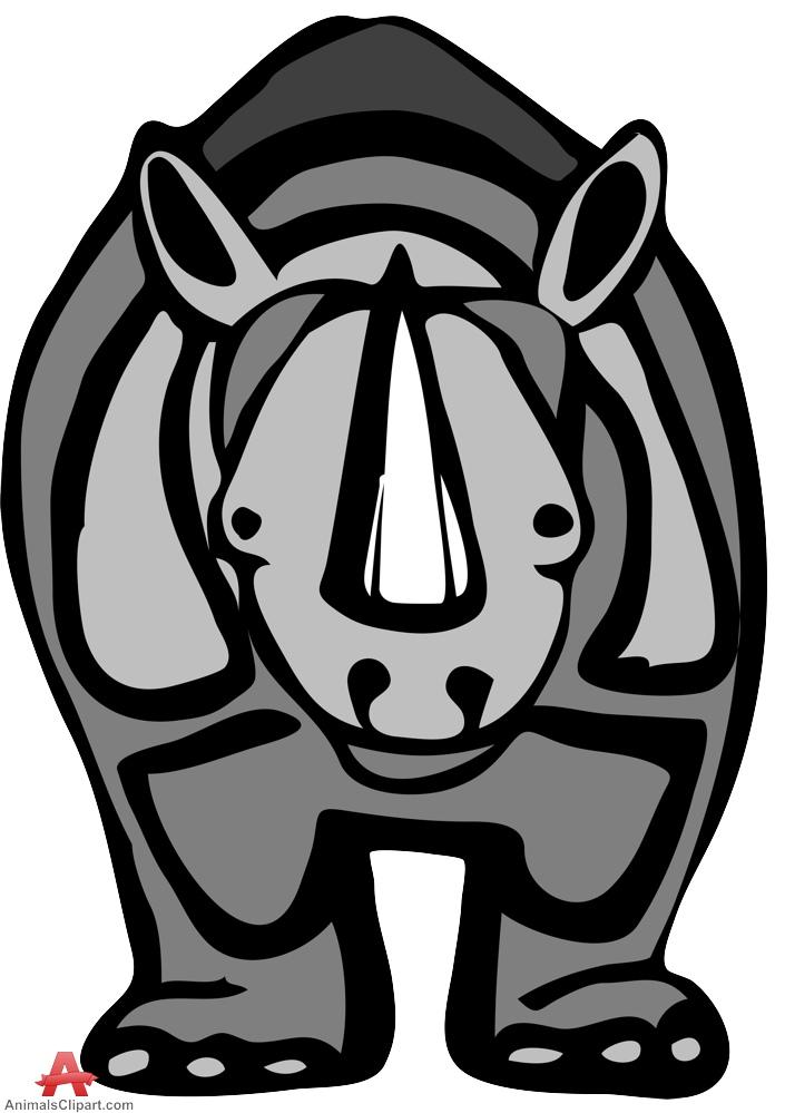 Drawn rhino african animal Drawing Drawing Download Rhinoceros Rhinoceros