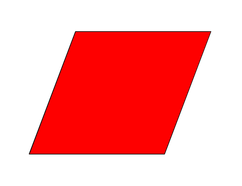 Rhomb clipart #14