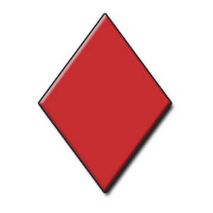 Card clipart red diamond Rhombus Clipart Shape Shape Download