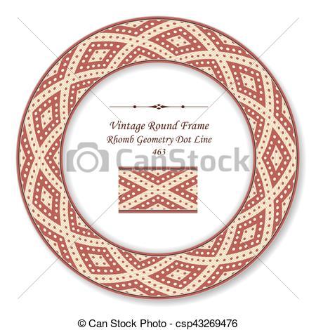 Rhomb clipart circle shape #1