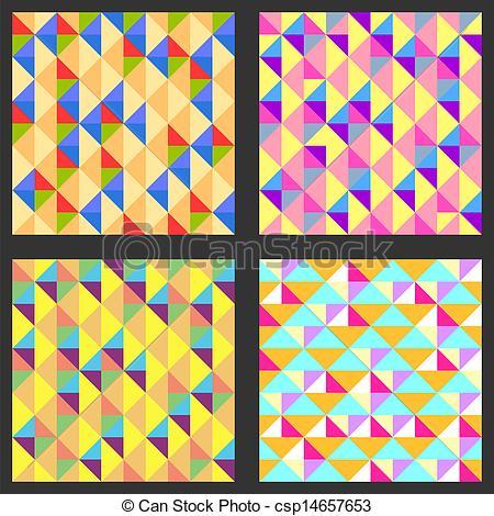 Rhomb clipart geometry Vector rhombs geometric  with
