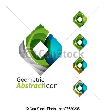 Rhomb clipart geometry Of csp27639205 company square abstract