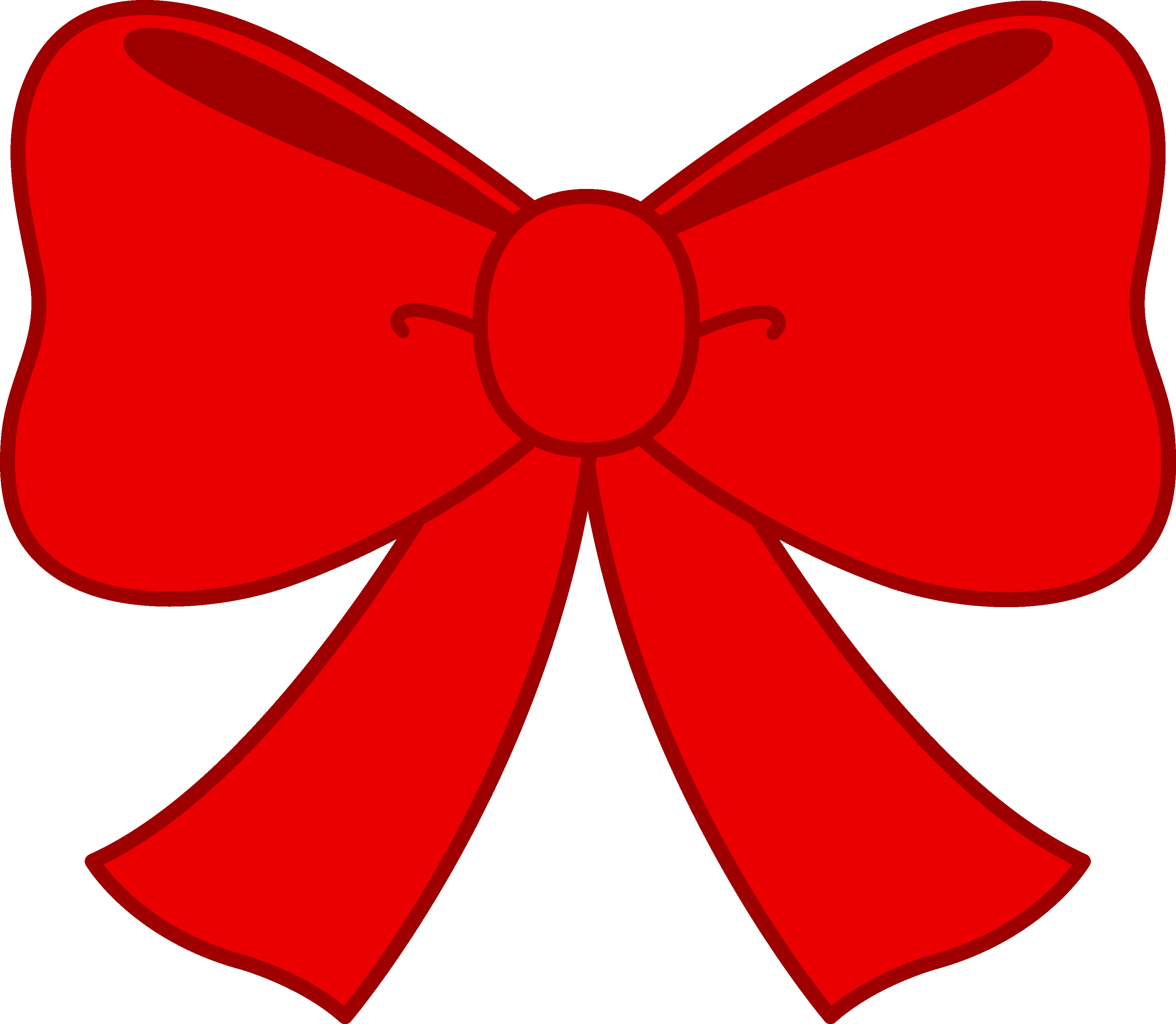 Red Hair clipart red bow #1