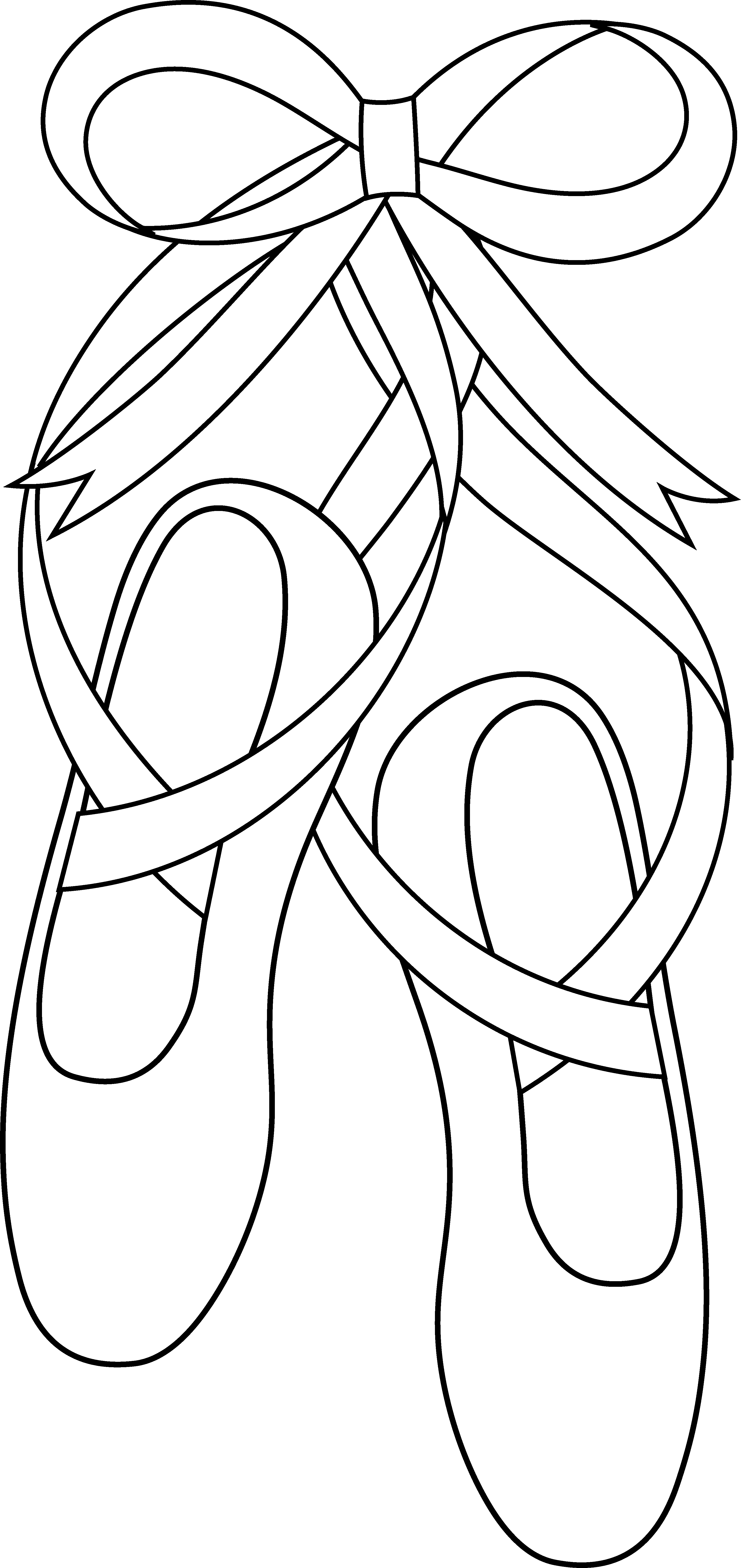 Slippers Art Coloring Art Page