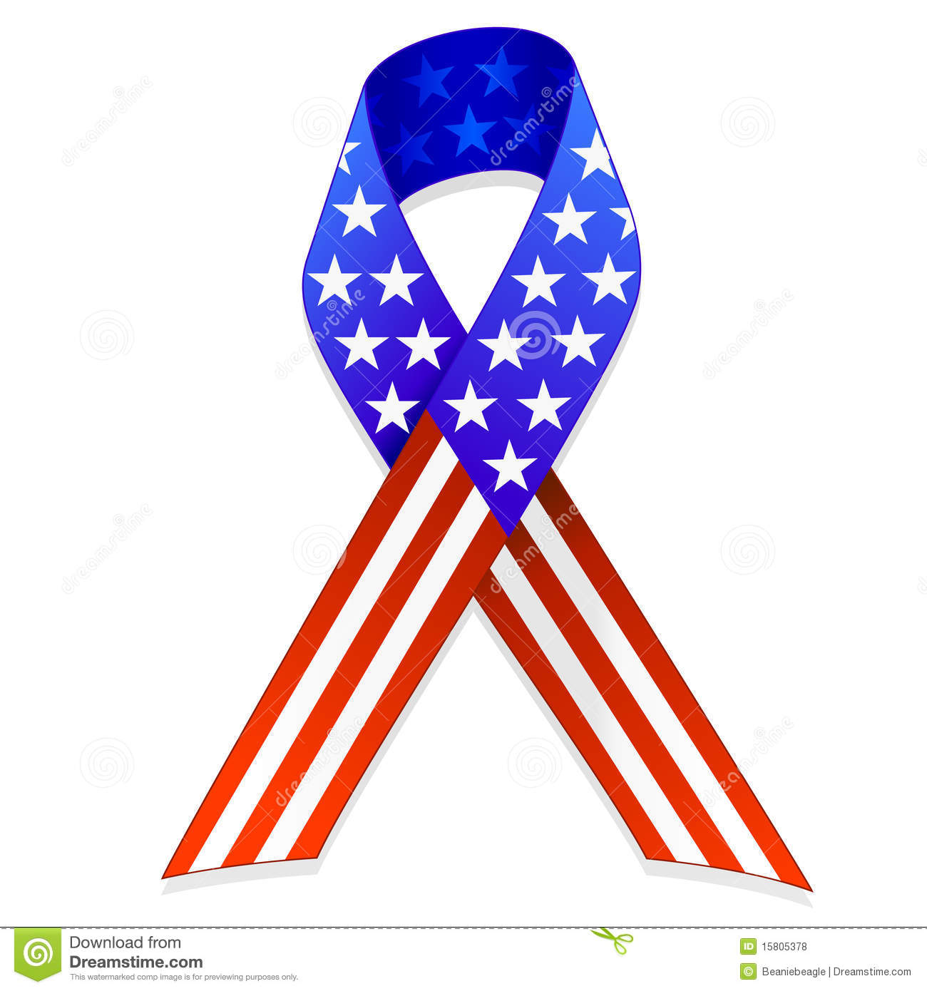 American Flag clipart ribbon Illustrations ribbon transparent clipart 369