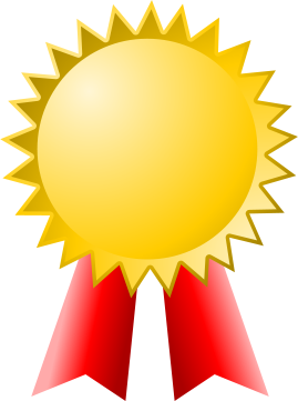 Ribbon clipart medal certificate #5