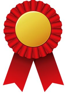Ribbon clipart medal certificate #4