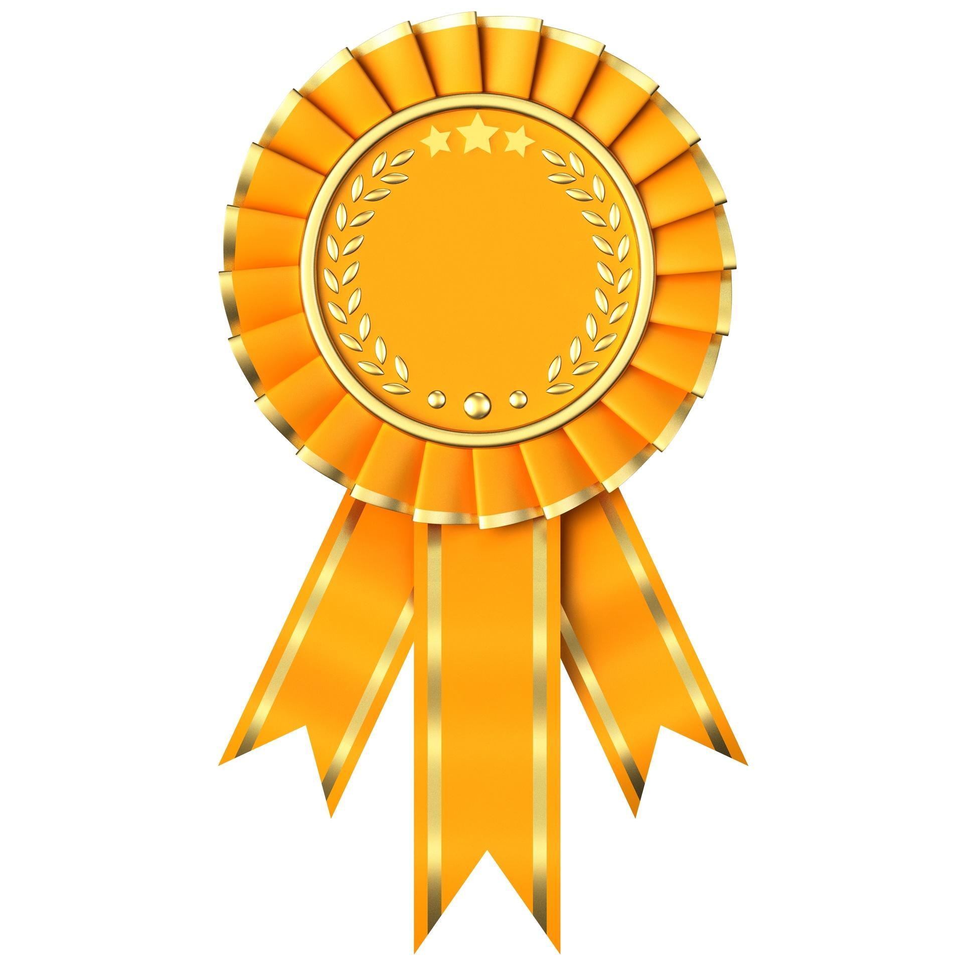 Ribbon clipart merit #4