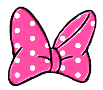 Ribbon clipart minnie mouse #15