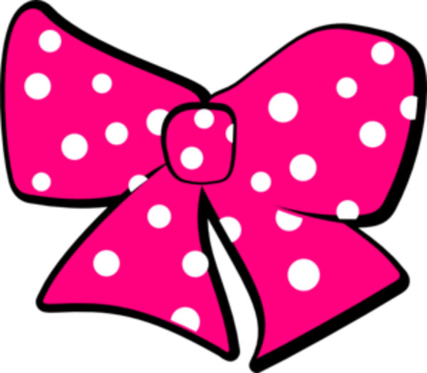 Ribbon clipart minnie mouse #10