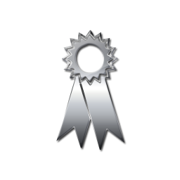 Ribbon clipart silver award #13
