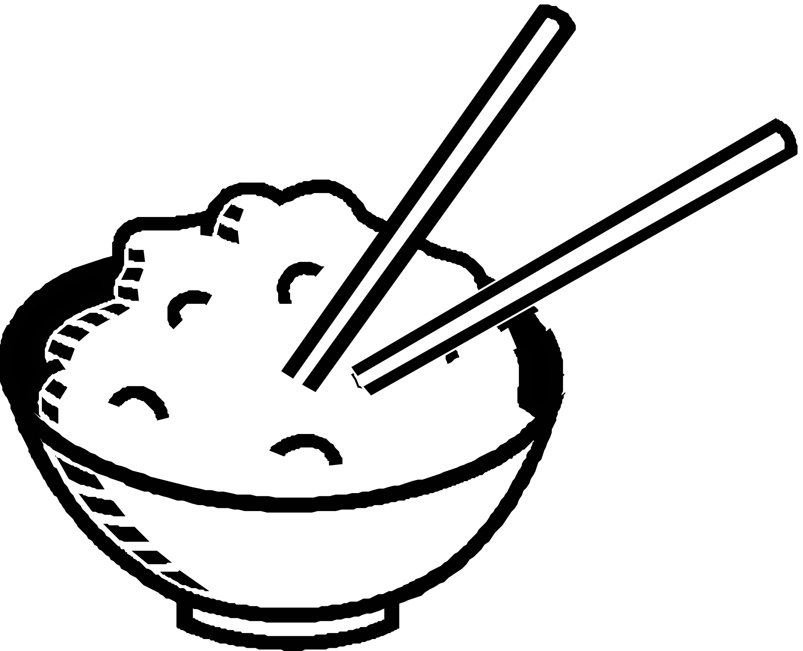 Cereal clipart black and white Free White Clipart Rice And