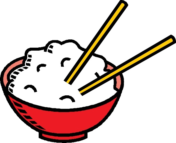 Rice clipart Bowl office Of art