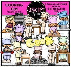 Rice clipart bundle & Cooking {Educlips Art Rice