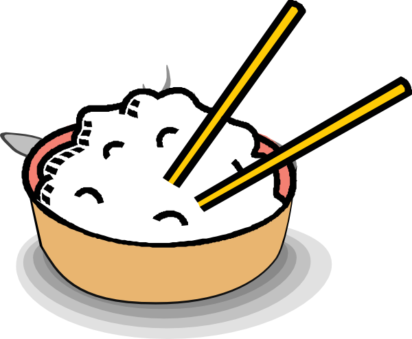 Rice clipart cooked rice Art image  clip royalty