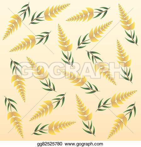 Rice clipart tree Rice abstract gg82525780 Stock Art