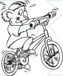 Ride clipart black and white Royalty Clipart A Vector White
