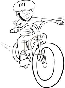 Ride clipart black and white White on white black bike
