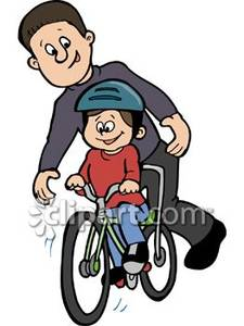 Bike clipart his Royalty Royalty To Learning Boy