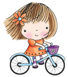 Bike clipart her Best : stamping Rubber Bicycle