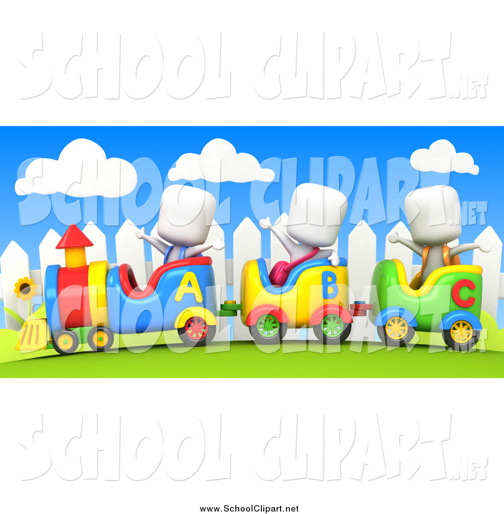 Ride clipart train ride By a on School White