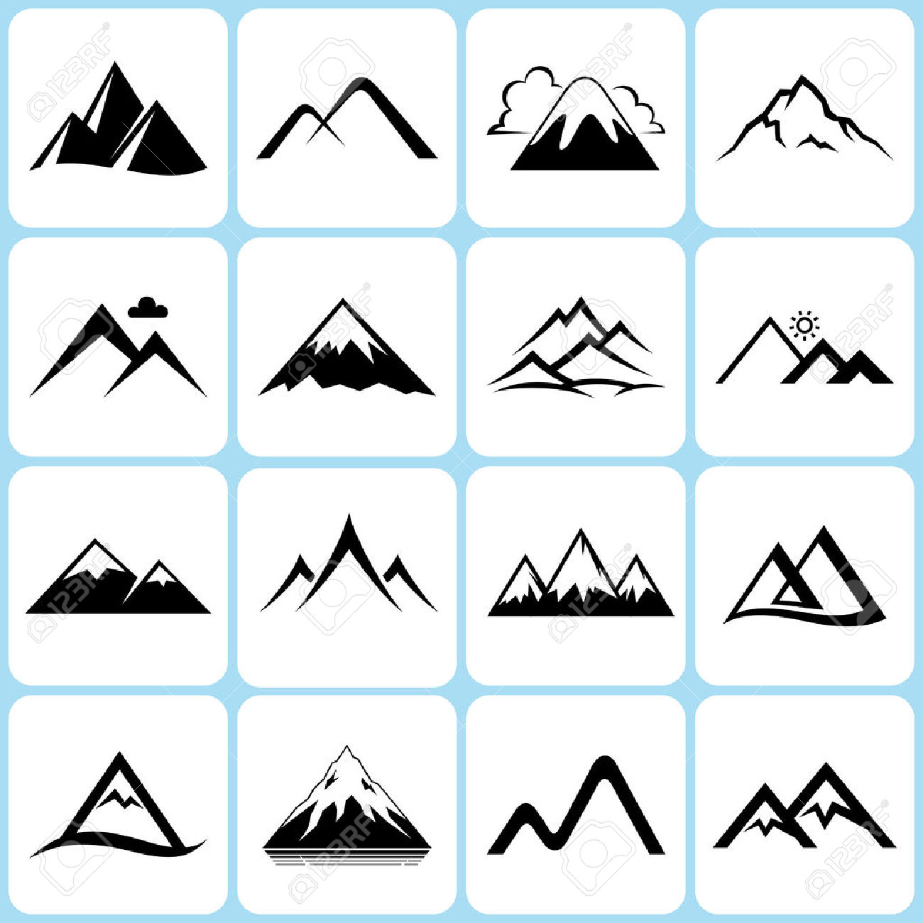 Mountain Ridge clipart Ridge Ridge clipart clipart Ridge