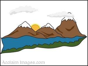 Mountain Ridge clipart snow mountain Mountain drawings #1 Download Ridge