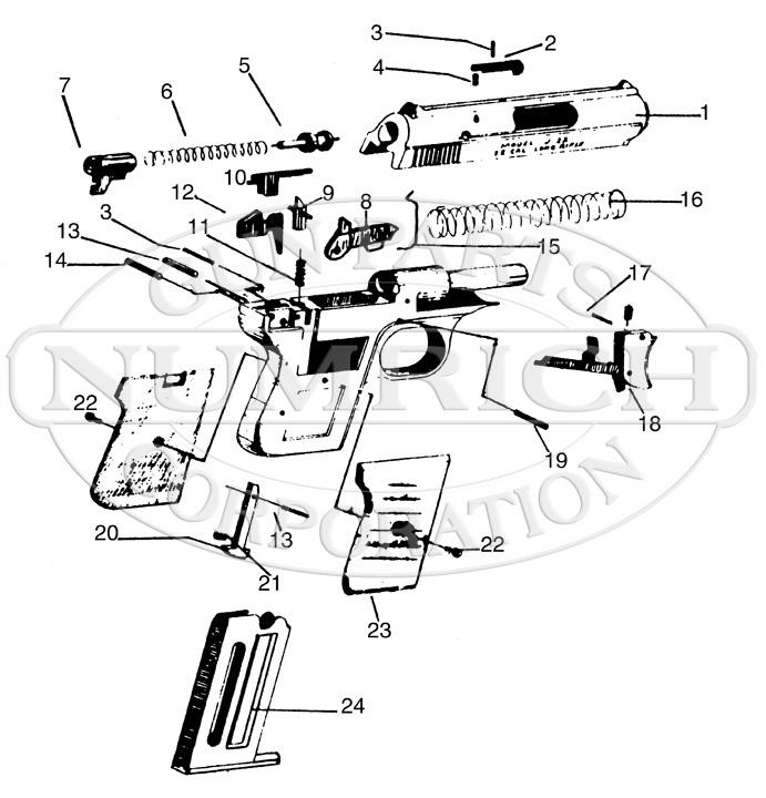 Rifle clipart .22 J Gun 22 Parts 22