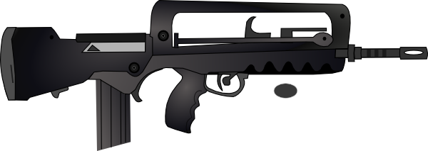 Assault Rifle clipart animated As: image at com Art