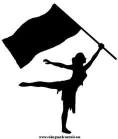 Rifle clipart colour guard Online Image and Logo Cakes