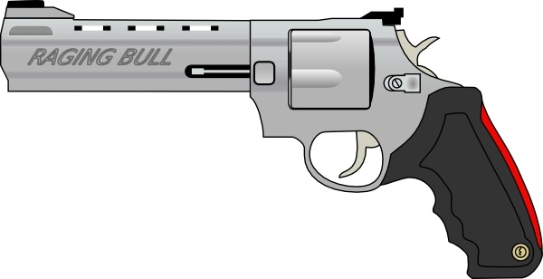 Rifle clipart firearm Pistol Pistol drawing Open clip