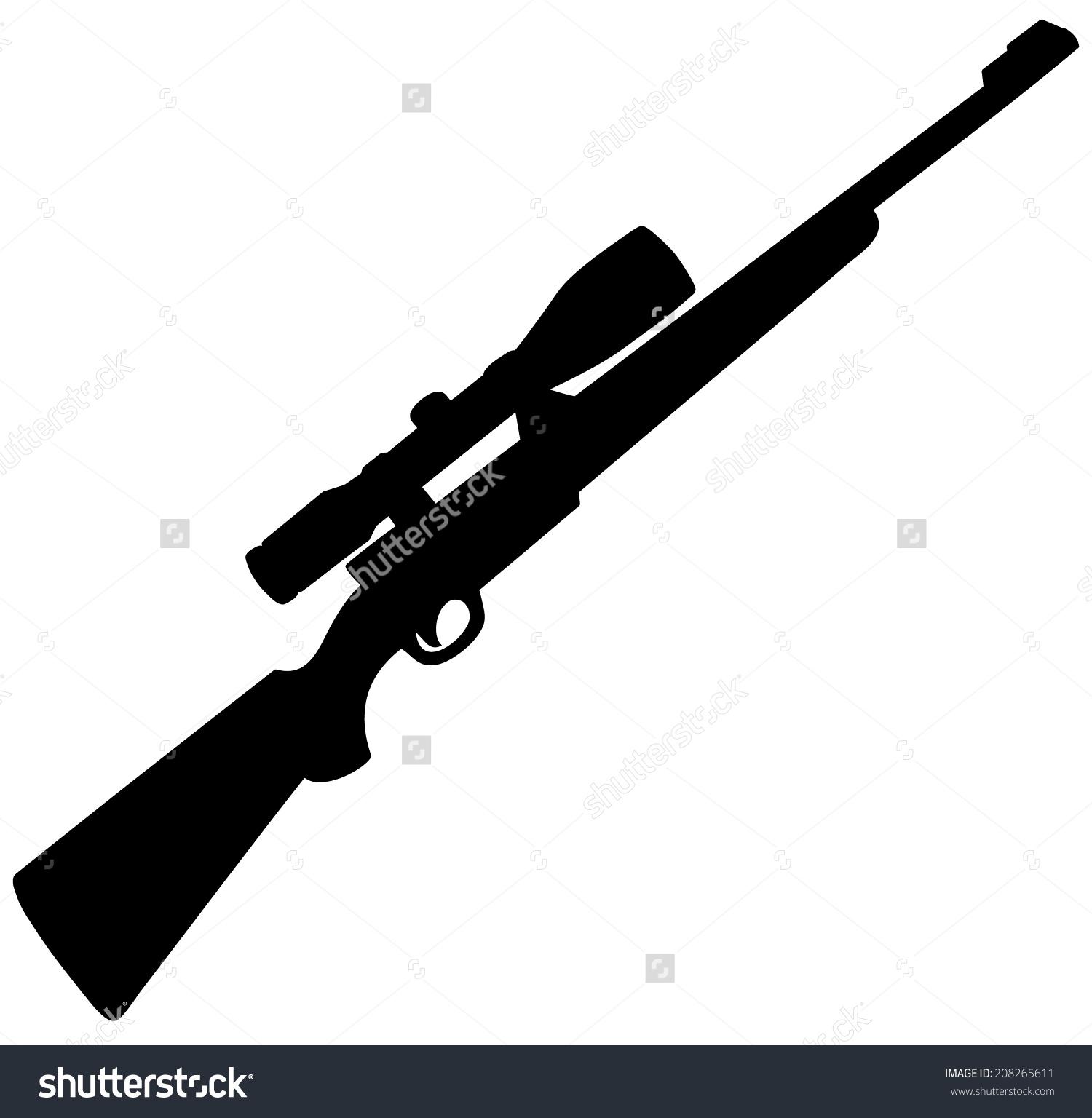 Assault Rifle clipart shotgun #13