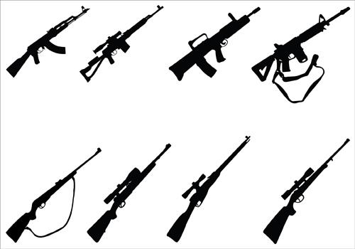 Sniper clipart hunting rifle Guns Free Gun Art