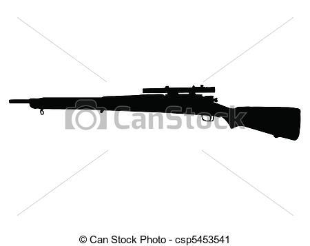 Rifle clipart logo Vector M1  Mauser WW2