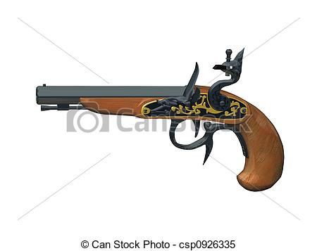 Rifle clipart old #6