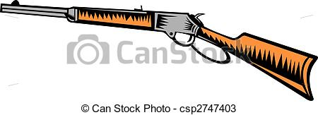 Rifle clipart old #9