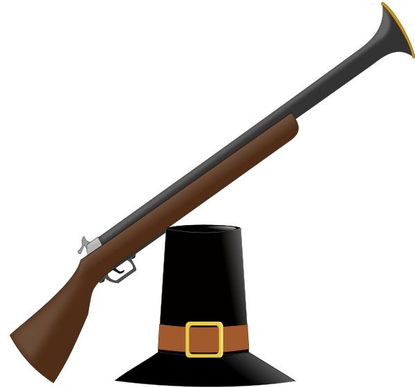 Rifle clipart pilgrim #1