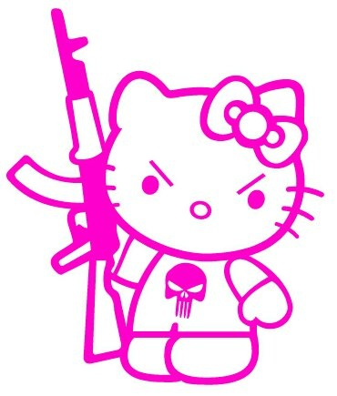 Rifle clipart pink Kitty girls gals female 25+