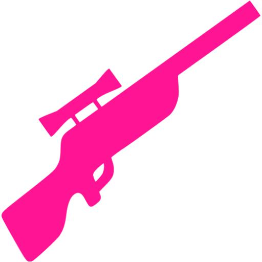 Rifle clipart pink Rifle pink Free rifle deep