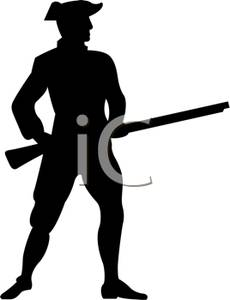 Rifle clipart silhouette Rifle Image Image Holding Rifle
