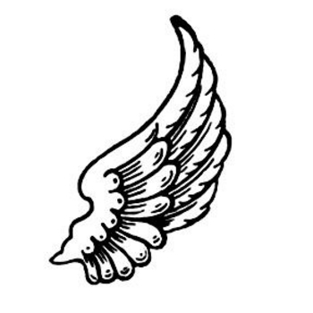 Wings clipart feather Art Clip Free art wings