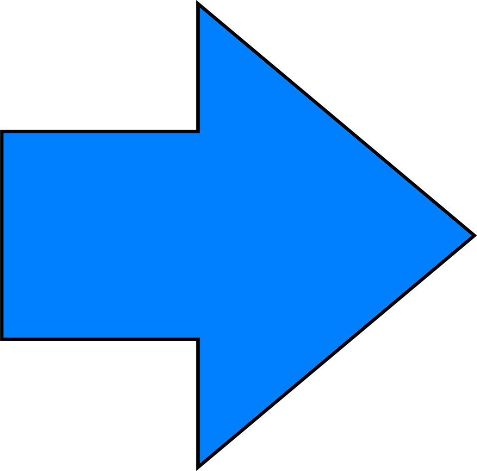Right clipart blue arrow Of right right Arrow Free