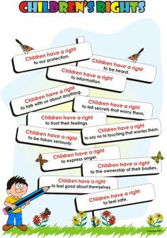 Right clipart children's The child the  convention