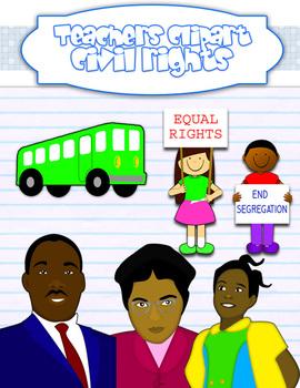 Us History clipart civil rights movement Clipart school border {5 Rights