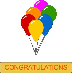 Right clipart congratulation Congratulations clip Clip 03