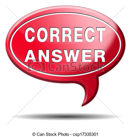 Right clipart correct Illustration Or Answer Art Answer