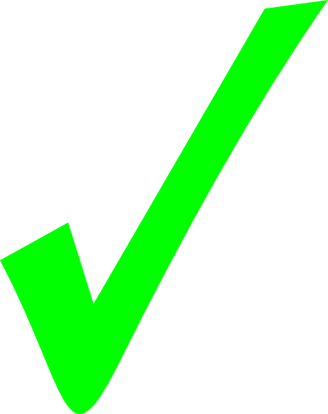 Check clipart correct Sign clipart clipart Right sign