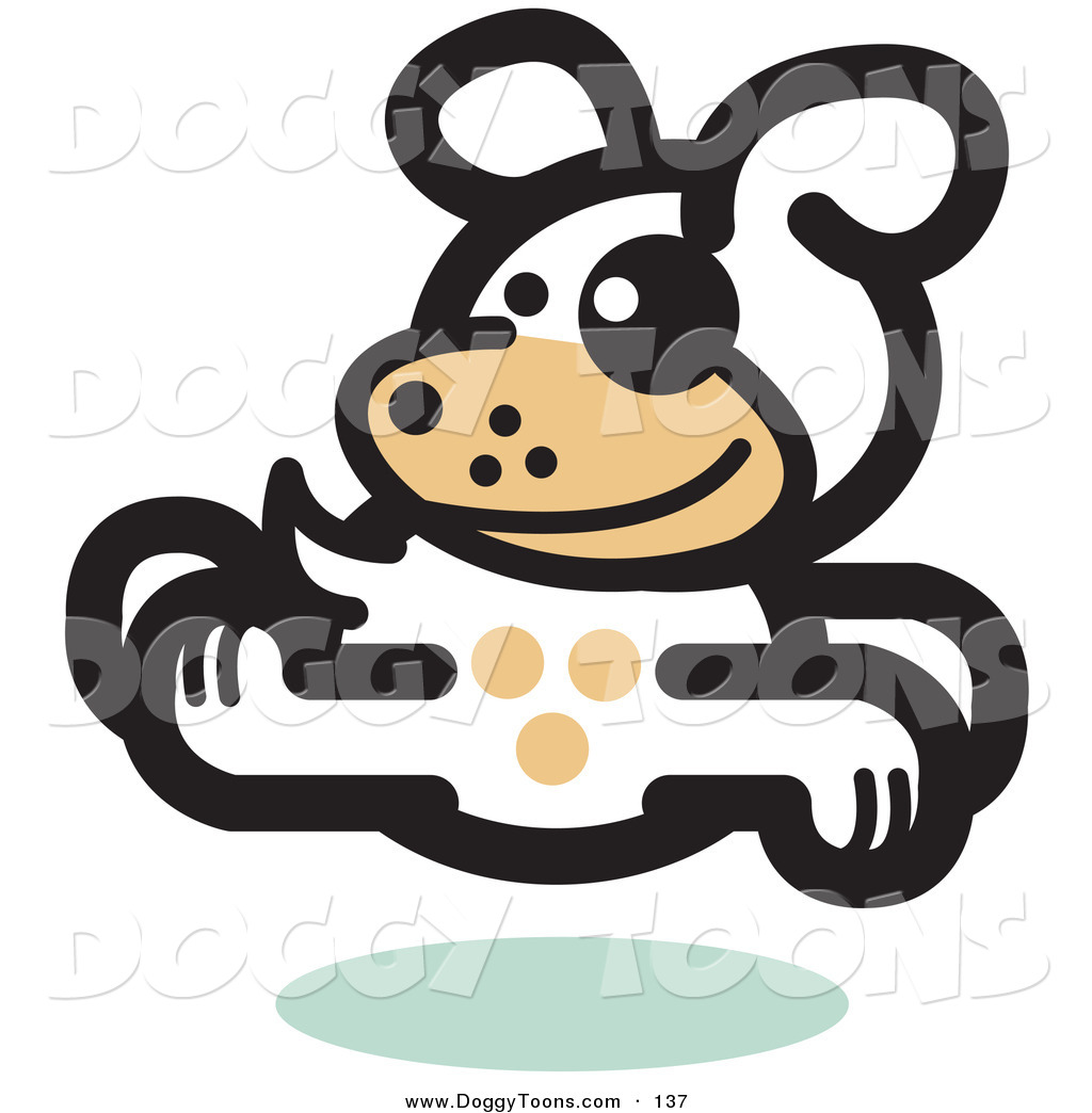 Right clipart dog running Running Gleeful Doggy the to