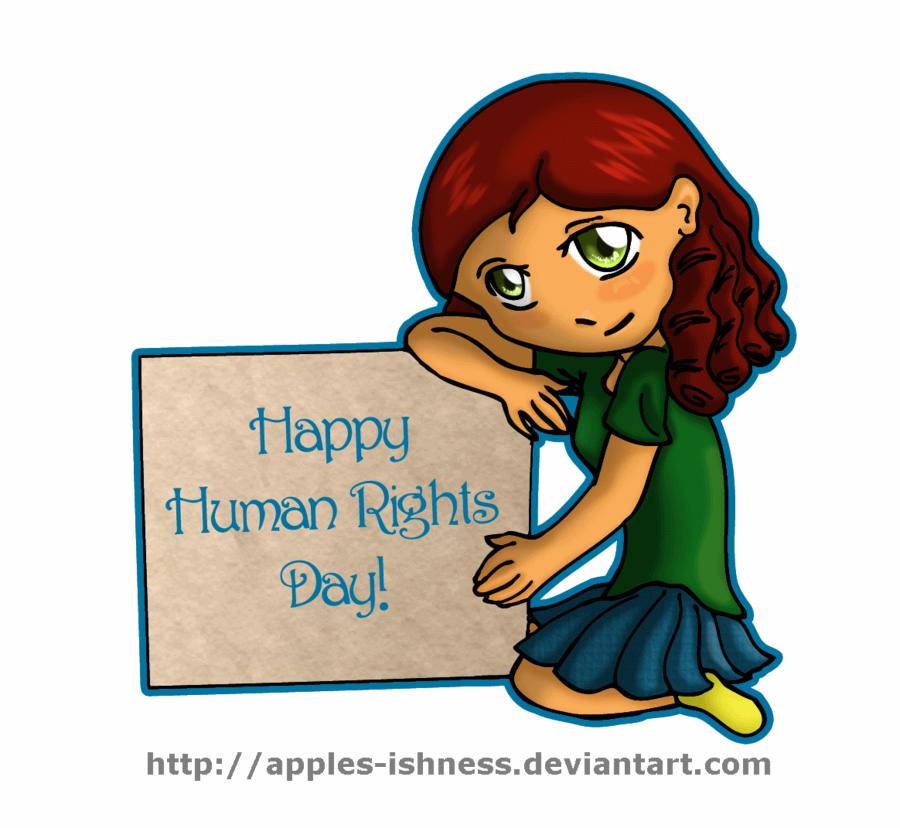Right clipart humanity Banner Day Rights  Human