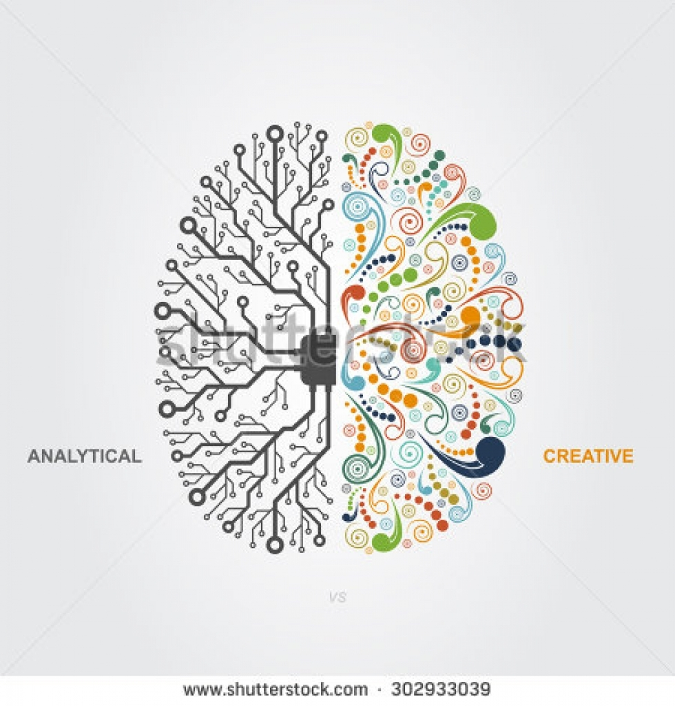 Right clipart left brain And functions right brain left